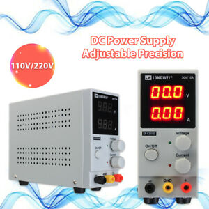 30v 10a Digital Dc Power Supply Variable Adjustable Lab Precision Test Equipment