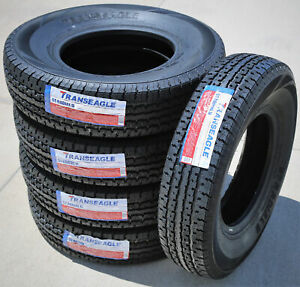 5 Tires Transeagle Ii Steel Belted St 225 75r15 Load E 10 Ply Trailer