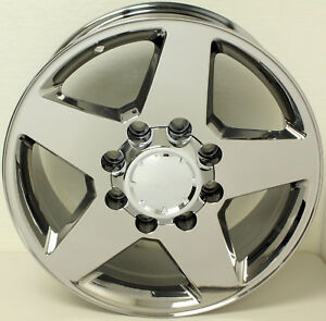 2011 2019 Chevy Silverado 2500 3500 Chrome 20 8 Lug 5 Spoke Wheels Rims 8 180