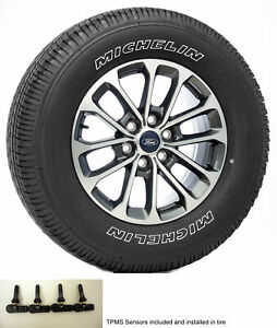 Ford F150 18 Wheels Michelin Tires Tpms New Takeoff Set For 2004 2020 Fx2 Fx4