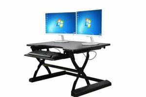 Standing Desk Fully Adjustable Sit Stand Workstation Small Large Available