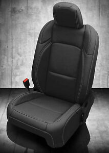 2018 2019 Jeep Wrangler Sahara Sport 2dr Jl Katzkin Black Leather Seat Cover Kit