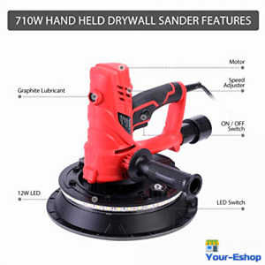 Drywall Sander With Vacuum Electric Hand Held Wall Sanders Variable Speed Tools