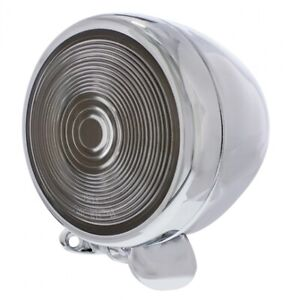 5 Round Tear Drop Dummy Spot Light Chrome Metal Housing For Show Only 30648