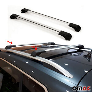 Roof Rack Cross Bars Luggage Carrier For Subaru Xv Crosstrek Impreza 2013 2017
