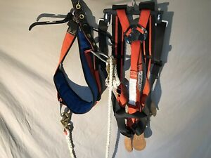 Buckingham Manufacturing Linemans Harness Set Climbing Large Belt