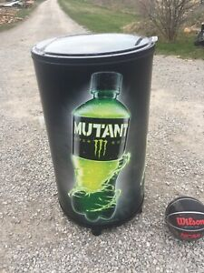 New Iceman 1 Monster Mutant Super Soda Beverage Cooler Cold Drink Merchandiser