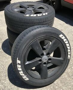 Used Set Of 16 Rims Original From My Dodge Dart With Used Tires