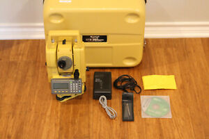 Topcon Gts 255 5 Green Label Conventional Survey Total Station