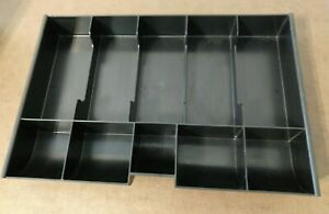 Two Steelmaster Mmf Replacement Cash Tray 221m23 For 2215cbtgy Cash Box Drawer