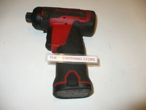 Snap On Cts661 Battery Powered Screw Gun With Battery Used Free Ship