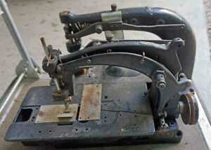Vtg Union Special Double Sewing Machine Industrial Parts Or Restoration