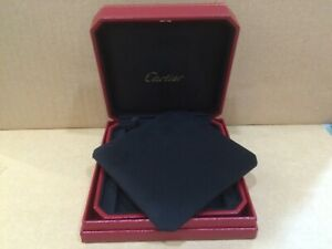 Cartier Vintage Jewelry Necklace Box Mint In Condition cojo 3001