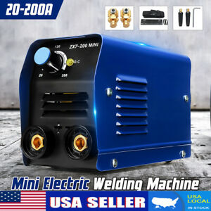 Us 225 Amp Mma Arc Mini Interver Igbt Stick Zx7 200 Dc Welder Welding Machine