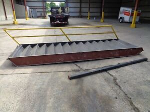 14 Step 56 Wide Steel Concrete Mezzanine Stairway 100 To Top Step