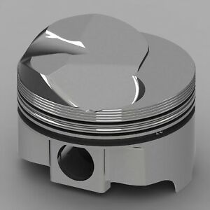 Icon Fhr Piston Set Fits Chevy 427 Rod 6 135 Oc Solid Dome 41cc 1v