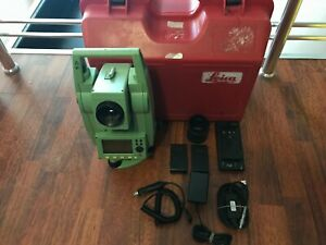 Leica Tc407 Total Station Calibrated Free Ship