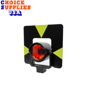 Leica style Gpr1 Gph1 Gzt4 Co axial Single Prism Target Set For Total Station