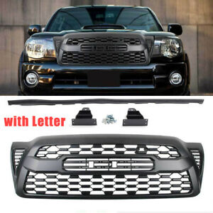 Front Bumper Grille Grill Black For Tacoma 2005 2006 2007 2008 2009 2010 2011