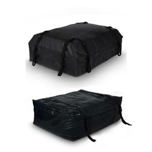 19 Cubic Waterproof Roof Top Cargo Storage Bag With Straps Bands Bsty 03