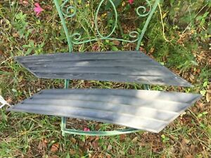 1979 1993 Fox Body Ford Mustang Coupe Notch Back Side Window Louvers Set Black