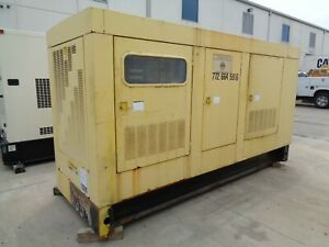 Caterpillar 3406c Generator Set 400 Kw Standby 480 V Good Used