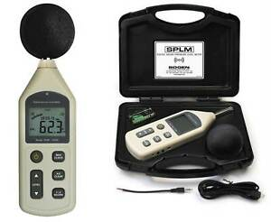 Professional Sound Pressure Level Meter Bogen With Usb Jack For Connection To Pc