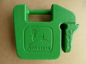 Vgc John Deere 40 Lb Suitcase Weight For Garden Tractors Others r66949