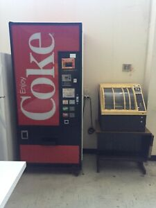 Can Soda And Snack Machine