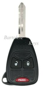 Replacement Remote Key For Dodge Ram Avenger Nitro Jeep Compass Patriot Wrangler