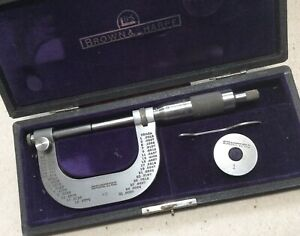 Brown Sharpe No 45 2 Micrometer Mint Condition With Box