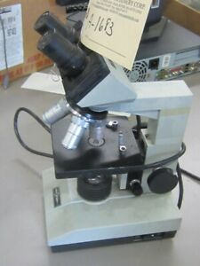 Micromaster Fisher Scientific Microscope A 1683