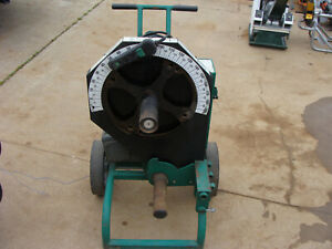 Greenlee 555cx Conduit Pipe Bender noshoes Gr8cond Nr