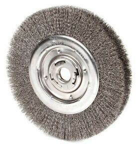 10 Crimped Wire Wheel Brush Arbor Hole Mounting 0 012 Wire Dia 2 Bristle
