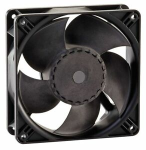Ebm papst Square Axial Fan 4 11 16 Width 4 11 16 Height 115vac Voltage