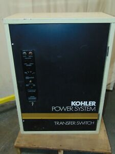 Kohler Non automatic Transfer Switch 208 Volt 3 Phase 4 Wire 3 Pole