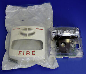 New Simplex 4903 9453 White Horn Strobe Wall Mount 15 Cd A v Assy Fire Alarm 062
