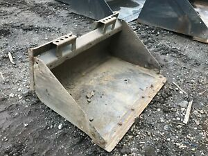 Bobcat 36 Skid Steer Bucket Mt85 Mt55 Mt52 S70 463 Mini Loader With Edge