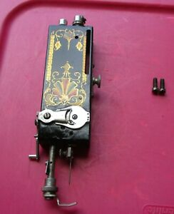 Antique White Family Rotary Sewing Machine Front Assembly Sn 135097 Nice Decals