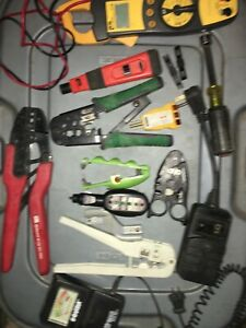 Lot Used Electrician Tools Cable Wire Strippers Scraper Others