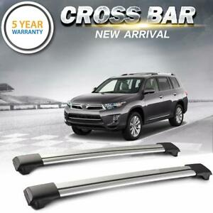 Top Roof Rack Cross Bar Luggage Carrier Aluminum For Subaru Forester 2014 2018