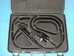 Olympus Cf 100l Flexible Colonoscope Used In Working Excellent Cosmetic And Case