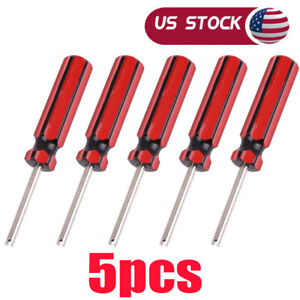 5x Car Auto Screwdriver Valve Stem Core Remover Tire Tube Installer Repair Tool