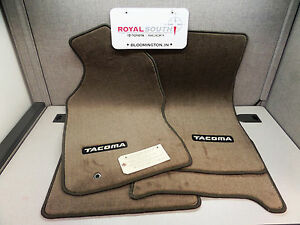 Toyota Tacoma Xtracab 96 04 Oak Carpet Floor Mats Genuine Oem Oe