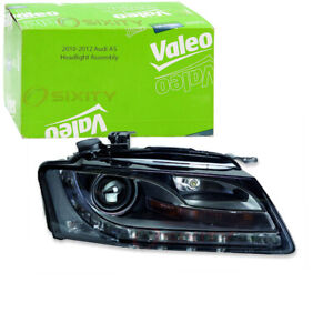 Valeo Passenger Side Headlight For 2010 2012 Audi A5 Front Right Assembly Pa