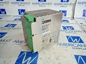 Phoenix Contact Power Supply Quint ps 24dc 24dc 10 24v To 24v New Surplus