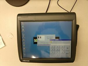 Micros Workstation 5a Pos Touchscreen Terminal 400814 101