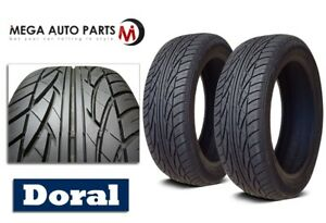 2 New Doral Sumitomo Sdl Series 205 55r16 91h All Season Performance Tires