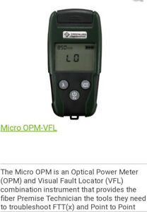 Greenlee Micro Optical Power Meter W Vfl