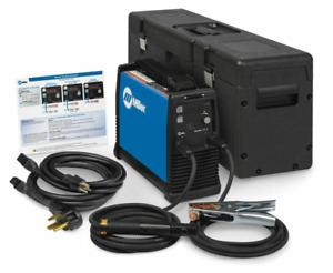 Miller Maxstar 161 S 120 240 V Stick tig Welder Package 907709001